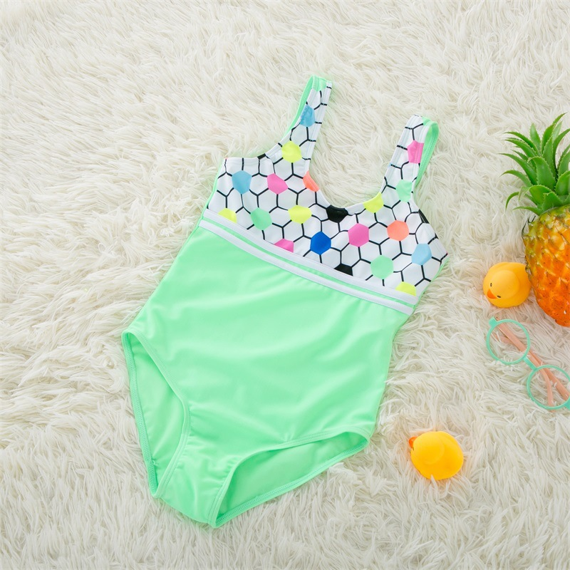 Dollplus One Piece Girls Swimwear Summer Bikini Baby Swimming Suit Beachwear Infantil Swimsuits Kids Swimwear For Girls Clothes in Swimwear from Mother Kids