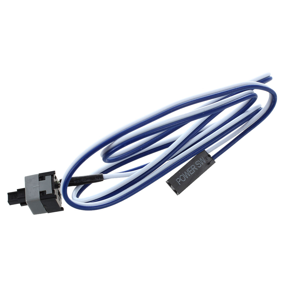 100 psc/lot 20.5 Long Power Button Switch Cable for PC Switches Reset Computer promotion 2 pcs 20 5 long power button switch cable for pc reset computer