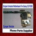 1 pcs europa versão desbloqueado para samsung galaxy s2 i9100 motherboard, 100% original motherboard i9100 navio livre