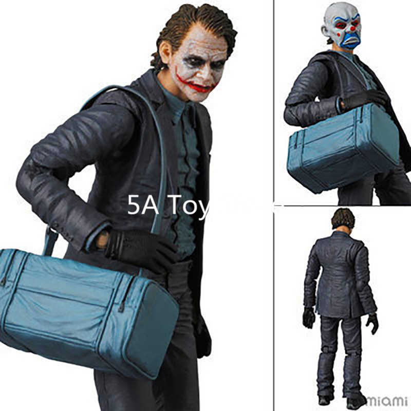 MAFEX NO.015 Batman The Dark Night The Joker PVC Action Figure Collectible Model Toy 15cm Retial Box