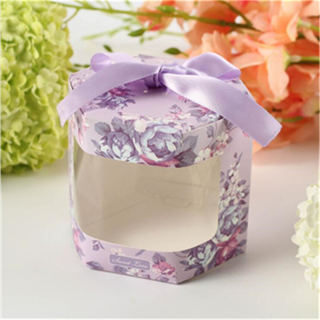 Free Shipping 50Pcs Creative Small Size Wedding Favor Boxes Wedding ...