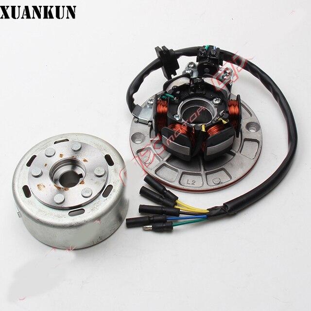 XUANKUN 150 / 160cc moteur | Bobine déclairage moteur de terre Rare modifiée, ensemble moteur magnétique