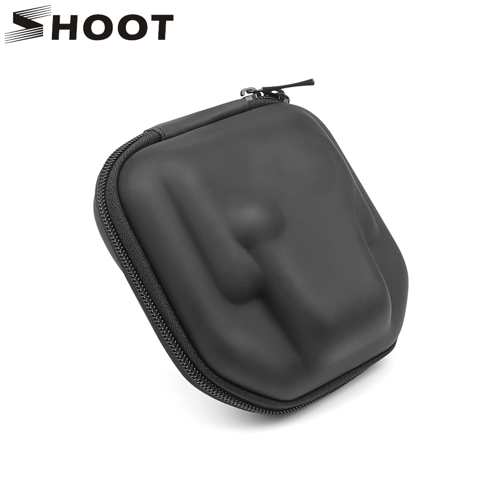 SHOOT Mini Action Camera Box Case for GoPro Hero 6 5 4 Session Sjcam Sj7 Sj9000 Sj4000 Xiaomi yi 4K Yi Lite Go Pro Bag Accessory цена