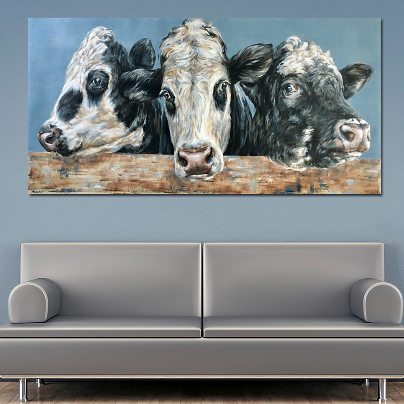 three cow