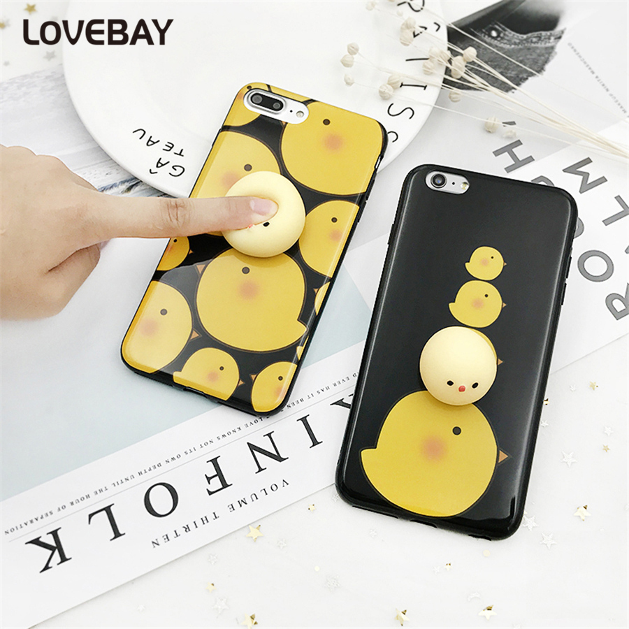Iphone 6 squishy case - Lovebay Squishy Phone Case For Iphone 6 6s Plus 7 7 Plus Cute Cartoon 3d Squishy