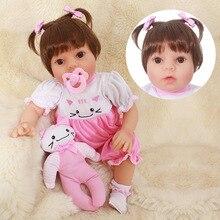 OtardDolls Boneca Reborn 20inch Soft Silicone Vinyl Doll 50cm Baby Newborn Lifelike Bebe Dolls