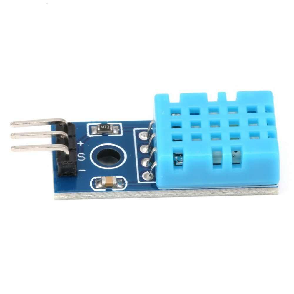 DHT11 Module de capteur d'humidité de température numérique pour Arduino avec carte de câbles Dupont pour outil de bricolage électronique Arduino