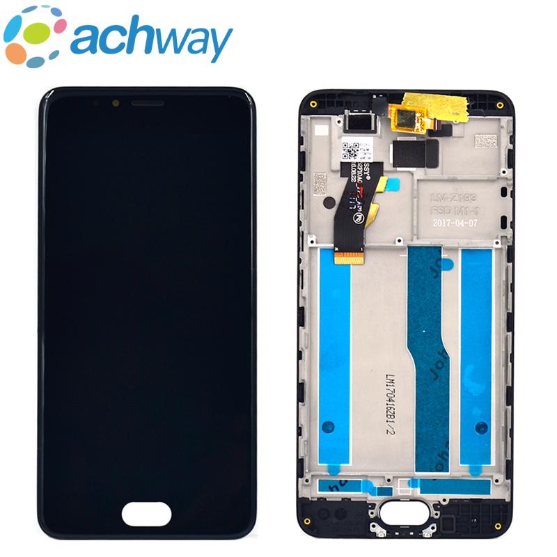 Prix pour Meizu M5S LCD Affichage à L'écran Tactile Digitizer Assemblée Panel meizu m5s mini lcd M612Q M612M Affichage Avec Cadre Remplacement
