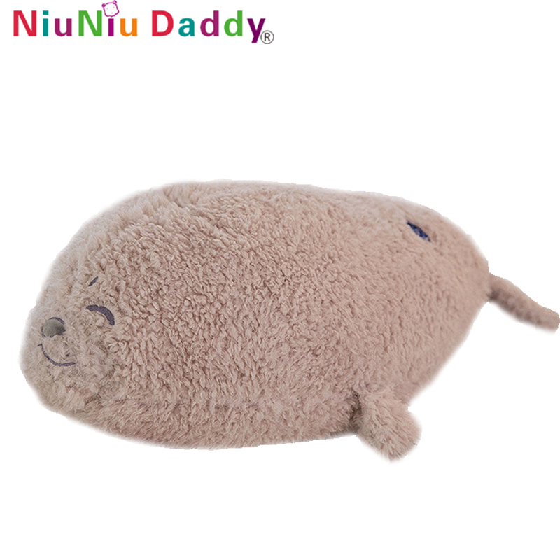 Niuniu papa peluche jouet nouveau doux otarie oreiller jouets créatifs pour bébé enfants sommeil jouets filles cadeaux d'anniversaire