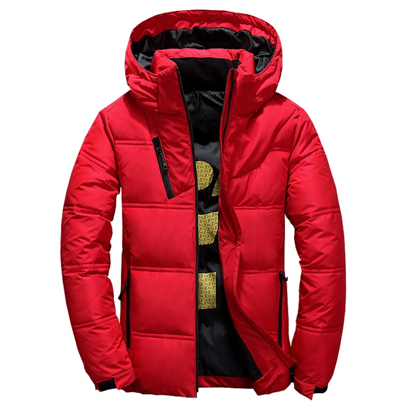 2019 Men down coat piumino uomo inverno 4 color doudoune Jacket Men Hooded Windproof Outerwear Casual Down Coats Large size 4XL
