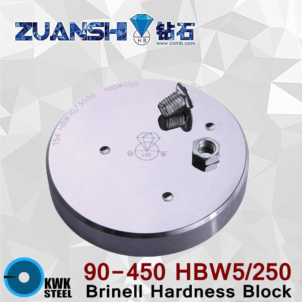 Brinell 90-450 HBW5/250 HBW Metallic Brinell Hardness Reference Blocks Hardness Test Standard Block for Hardness Tester коптильня из нержавейки 1 5 мм 450 250 250 doorz