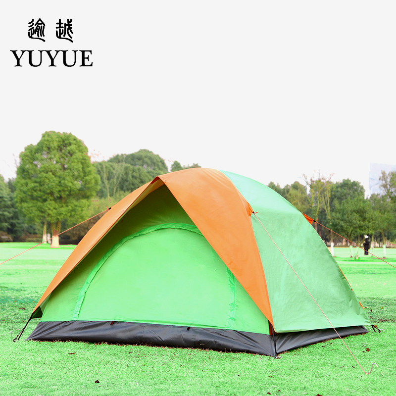 3-4 person UV protection car tent for cleary day hiking gazebo double layer outdoor camping for sunny day   3