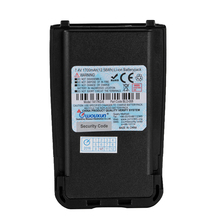 Original WOUXUN DC7.4V 1700 mAh Li Ion Akku für WOUXUN KG UV8D KG UV8D Plus walkie talkie Batterie BLO 008