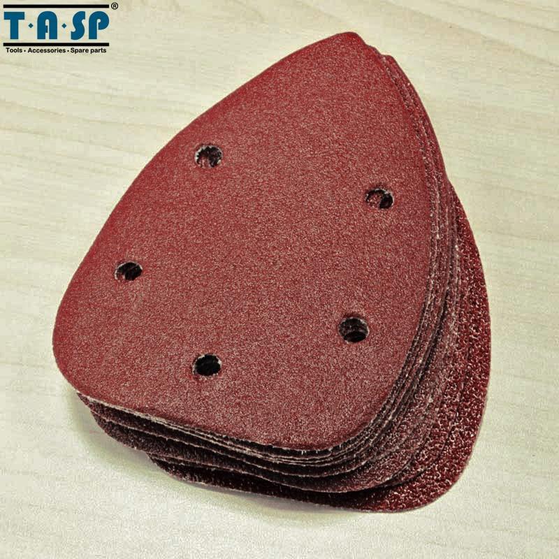 TASP 25tk 140x100mm Palm Sander Liivapaberi konks ja silmus - Abrasiivtööriistad - Foto 4