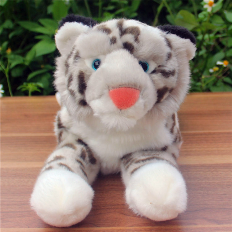 Large Dolls Snow Leopard Doll Emulation  Cute  Plush Toy Gift  Male  Female  Child Toys Store super cute plush toy dog doll as a christmas gift for children s home decoration 20