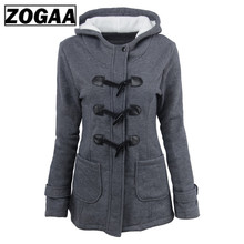 ZOGAA Jacket Women Plus Size 2019 Winter Women Coats Newest Fashion Casual Hoodies Long Section Keep Warm Jacket Female Coat