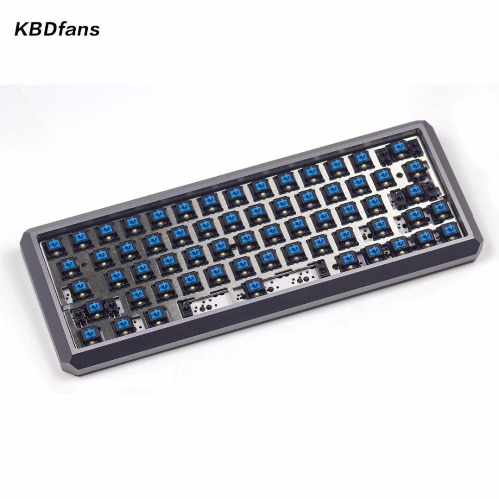 KBDfans fully assembled 5degree mechanical keyboard cherry swich box royal