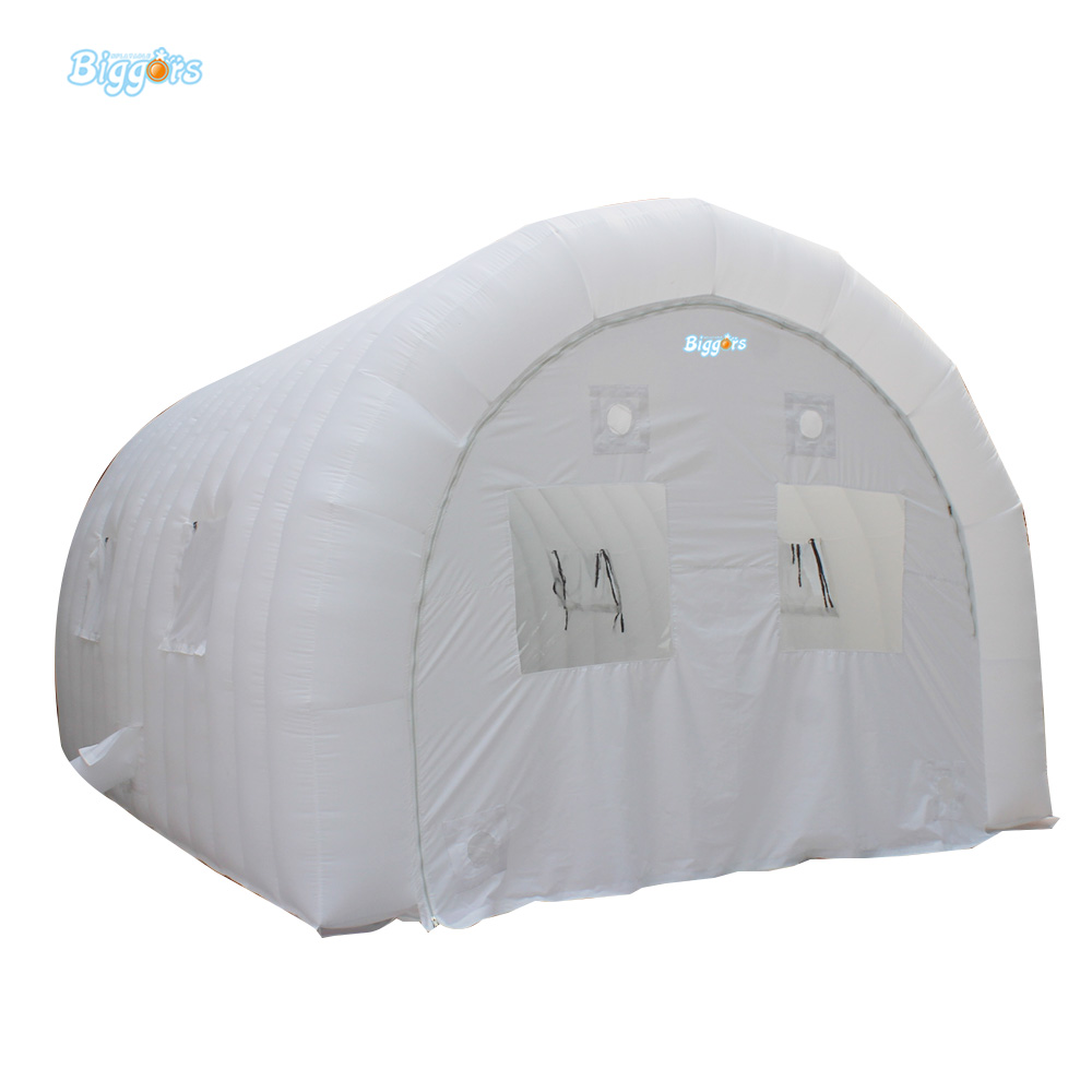 Inflatable White Dome Tent Giant Outdoor Inflatable Tent Inflatable Lawn Tent For Wedding Event factory direct sale 6x6x3 5 m inflatable dome igloo tent for outdoor event high quality blow up all white yurt tent toy tent