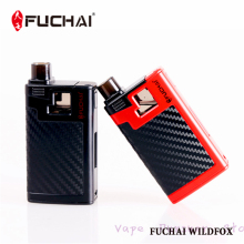 2017 original fuchai 40w wildfox e electronic cigarette BLACK RED Sigelei vape kit Built in LiPo