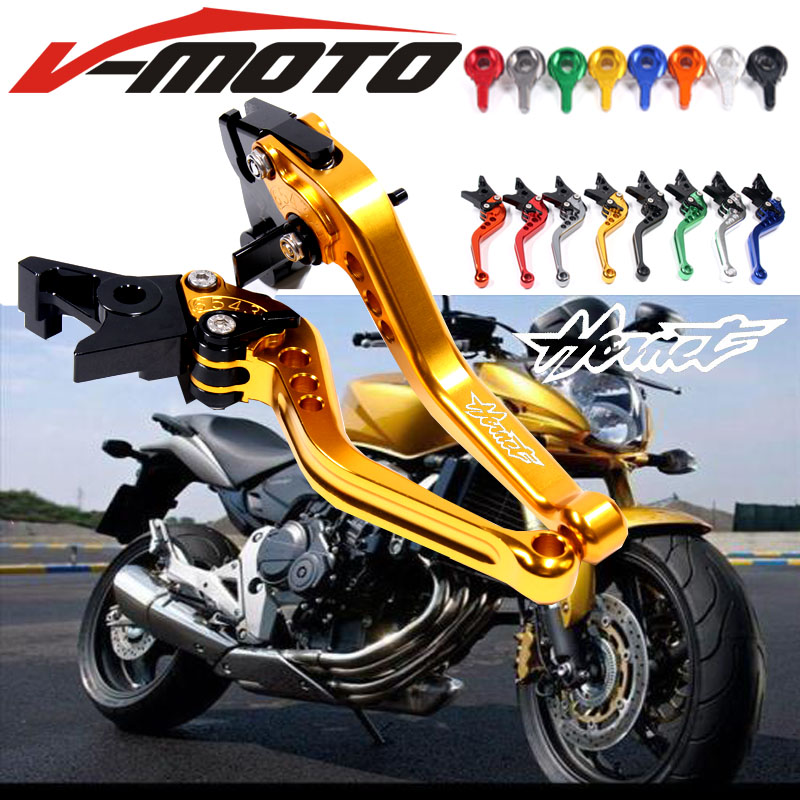 Motorcycle CNC aluminum Shorty Adjustable Brake Clutch LeversFor Honda CB600F / CB650F Hornet 2007 2008 2009 2010 2011 2012 2013