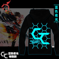 Japanese Anime Guilty Crown Black Hooded Sweatshirt Hoodie 100 Cotton With A Hood Thickening Outerwear Cosplay