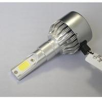 Hoge Kwaliteit LED Auto Auto Koplamp Lamp Hi-Lo Beam COB Flood Led Koplampen 36 W 4800LM 6500 K 12 V 24 V H7 voor Mrecedes Benz BMW