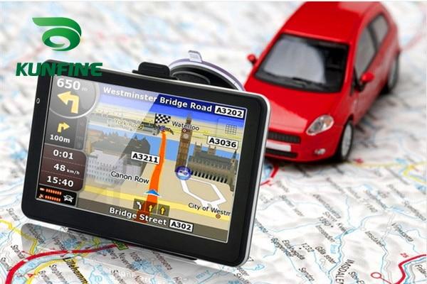 7 Inch Win CE 6.0 Car GPS Navigation Radio 8GB 256M Truck Vehicle GPS Navigators Lorry Rear View Camera Screen Free Map Upgrade цена