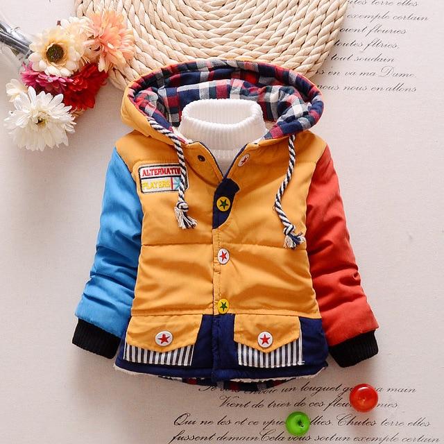 8eebb6bcb $ Number $ number meses Recién Nacido Bebé Otoño Invierno ropa de abrigo  chaqueta abrigo de Invierno chaqueta de los niños ...