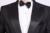 (Jaqueta + Calça) branco E Preto da Forma Dos Homens de Smoking Mens Stage Show Desempenho Noivo Terno E Calças Festa Vestidos de Ternos Masculinos