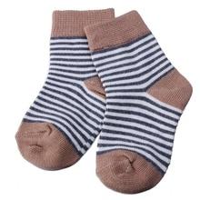 HOT SALE 4 Pairs Baby Toddler Boys Girls Kids Soft Cotton Socks Stripe Polka Dot SocksColors:Blue Sizes:XS (0-6 Months)
