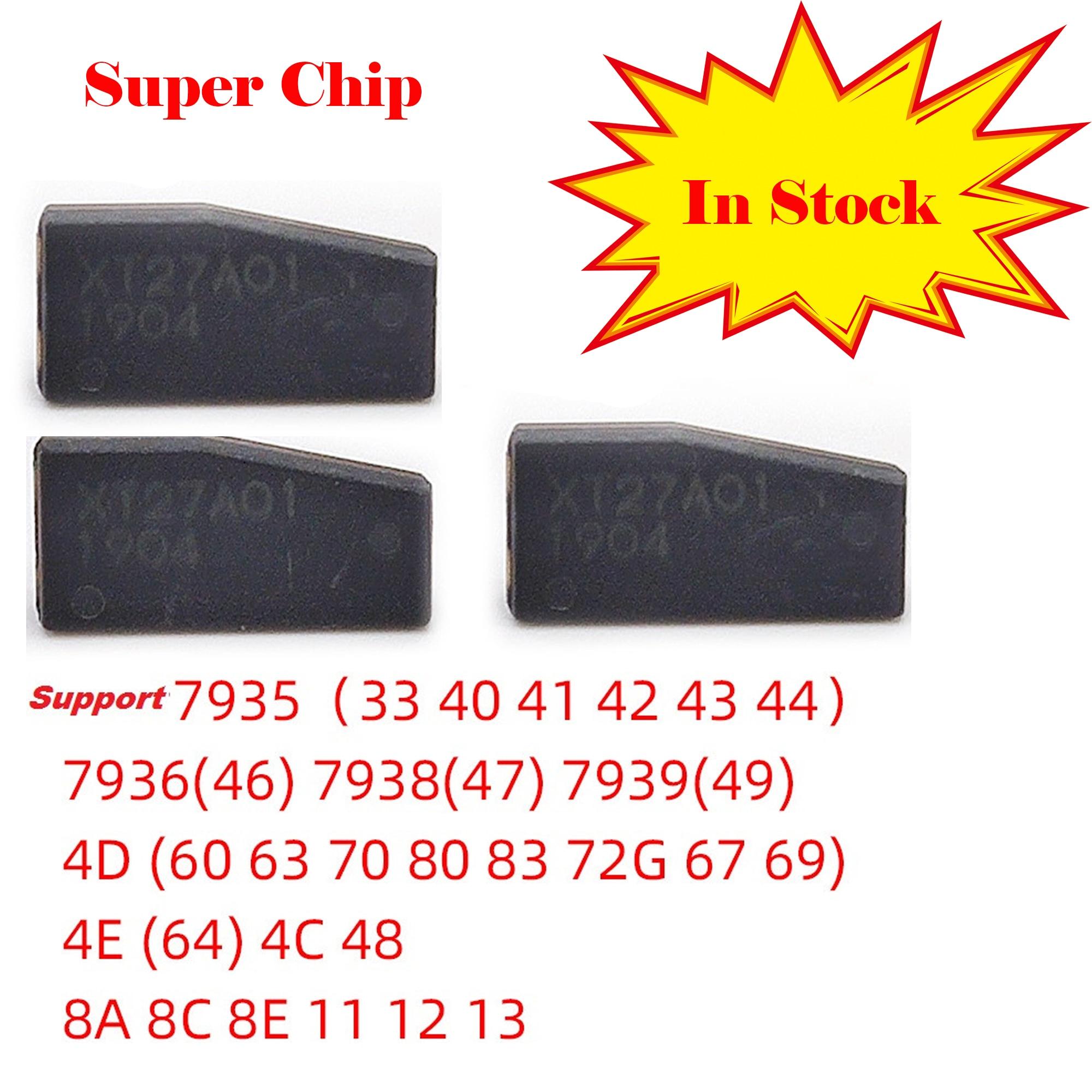 Original VVDI  Super Chip For VVDI Key Chip Copier Clone 46/47/48/4C/4D/4E Transponder Unlimited Copy For Vvdi Key Tool