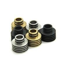 E-XY Heat Insulation Large Vapor wide bore drip tips Heat dissipation 510 RDA RBA DCT Atomizer mechanical mod Vaporizer