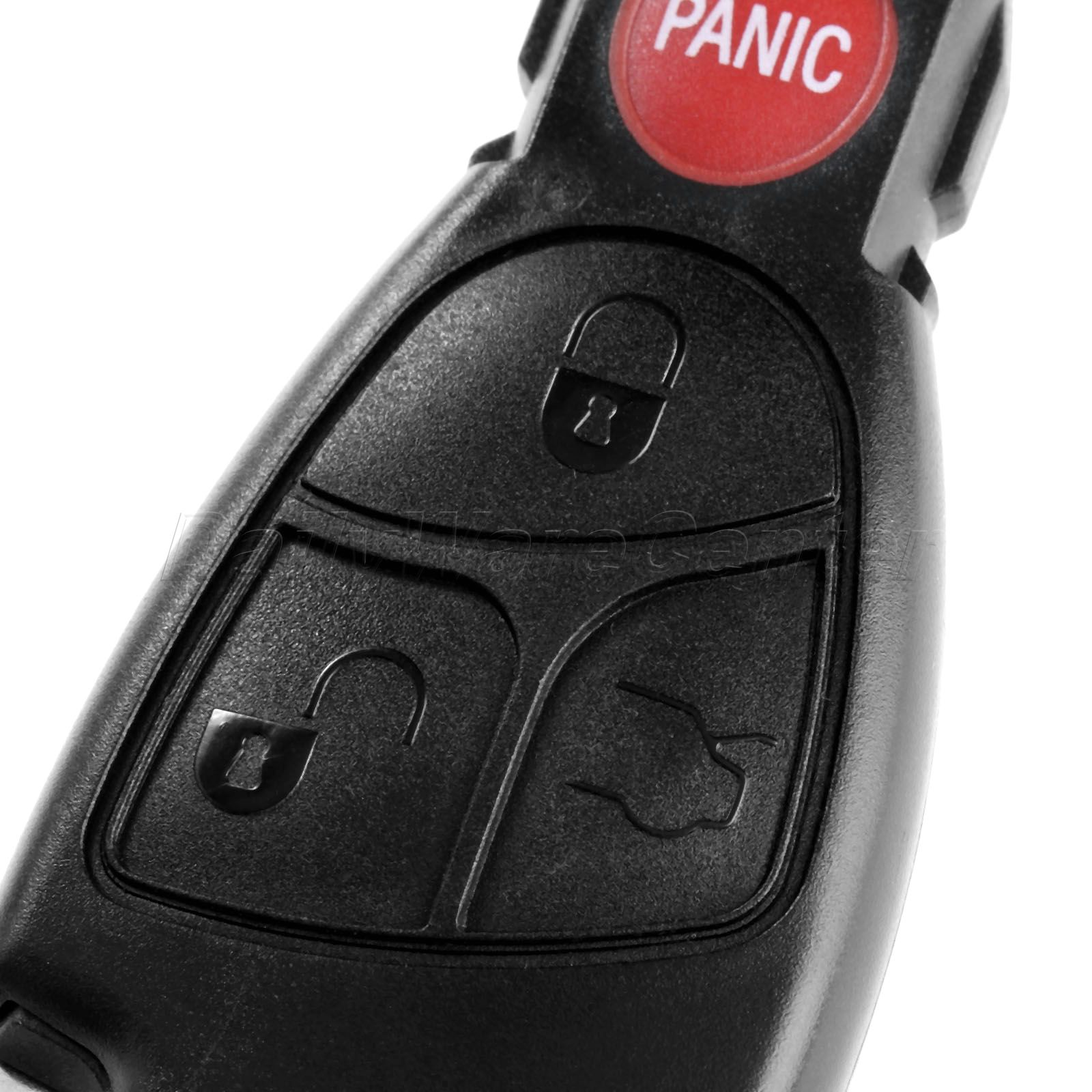 3 1 Panic Button Replacement Remote Car Key Fob Shell Case Battery Clip Key Insert For MERCEDES BENZ S E C R CL GL SL CLK SLK in Car Key from Automobiles Motorcycles