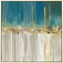 Hand Painted Modern Abstract Canvas Oil Paitntings Wall Art pictures for Living Room Home Decor Quadro