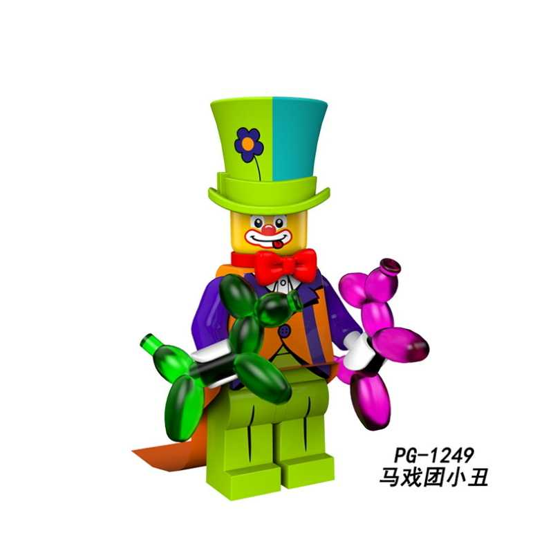 Single Sale Ghost Series Luminous Figure Keychain Set Scream Gloom In The Dark Zombie Halloween Building Blocks kits bricks Toys