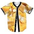 Twinkies Jersey overshirt 3d STREETWEAR camisas con ESTILO Solo Pecho camisa de VERANO trajes de ropa de hombre