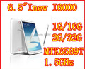 Celular Inew, i6000 6.5 polegada MTK6589T Quad Core android 4.2 IPS1920X1080 2 GB / 32 GB 13MP Camera dual sim 3 G GPS WIFI FM