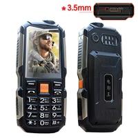 MAFAM L18 Shockproof 3 5mm Earphone Jack Power Bank Flashlight SOS Speed Dial Wireless FM Radio