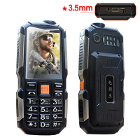 MAFAM L18 Shockproof 3 5mm Earphone Jack Power Bank Flashlight SOS Speed Dial Wireless FM Radio