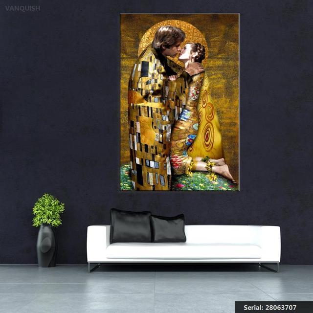 Us 872 46 Offpokonać Gustav Klimt Wydruk Giclee Na Płótnie Wall Art Decor Plakat Obraz Olejny Druku Na Płótnie Darmowa Shipment28063707 W Pokonać