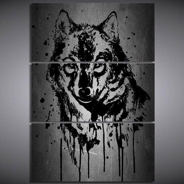 Moderno Lobo Enmarcado Fotos Modelo - Ideas de Arte Enmarcado ...