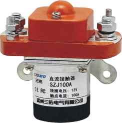 ZJ (MZJ, SZJ)-100A double bobine dc contacteur