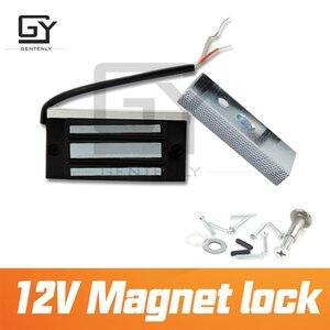 Image 5 - Magnet lock 12V door magnetic escape room prop installed on the door electromagnet lock  prop for escape game by Gentenly