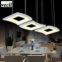 Modern Led Pendant Lamps Living Room Acrylic Stainless Restaurant Bedroom Decorative Pendant Lights Lamparas Home Lighting Lampe holigoo pendant lamp acrylic stainless restaurant bedroom decorative pendant lights lamparas living room home lighting lampe