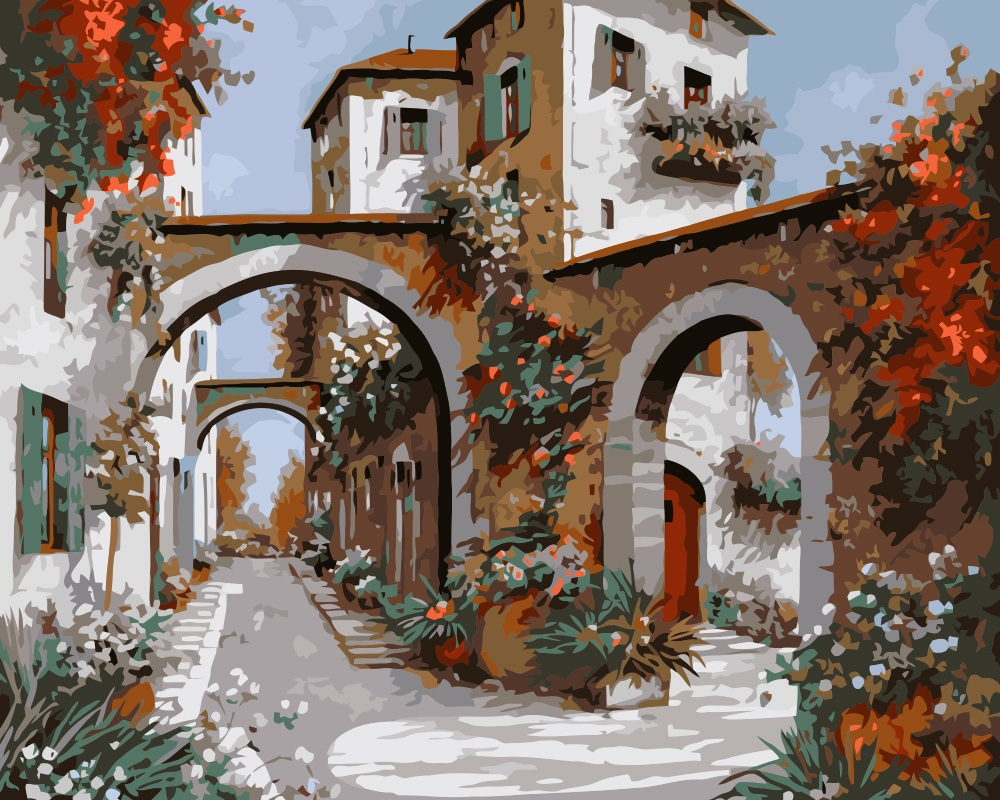 приготовление постер картины итальянские пейзажи этом