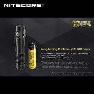 Image 5 - 1800 Lumens Nitecore EC30 CREE XHP35 HD LED Extreme Performance Ultra Compact Flashlight