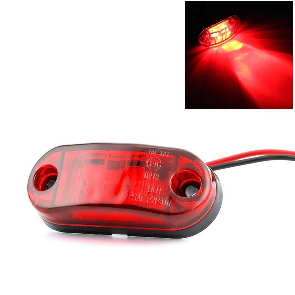 ISincer LED Bar Off Road LED Luz de Trabalho 12V 24V Front Side Marcador Luz Posição Reboques Do Caminhão lado luzes Laterais Lâmpada