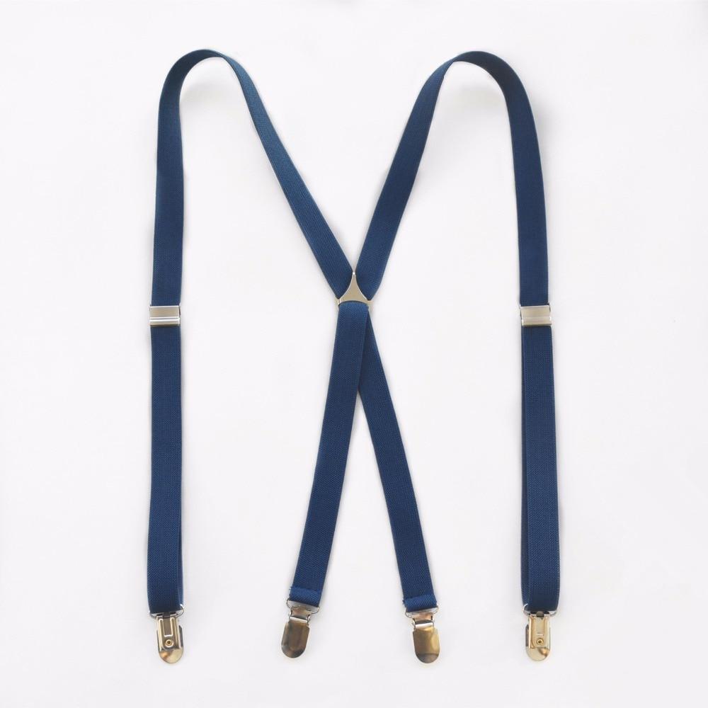 elmart-US-1X-Kids Boy Girls Toddler Clip-on Suspenders Elastic Adjustable Braces