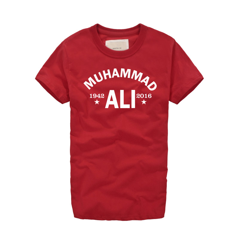MMA Cassius Clay Muhammad Ali Retro T Shirt Vintage Maglietta da uomo Harajuku Men Women Boxer The Greatest tide Heavyweights Legend