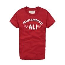 MMA Cassius Clay Muhammad Ali Retro T Shirt Vintage Men's T-Shirt Harajuku Men Women Boxer The Greatest tide Heavyweights Legend